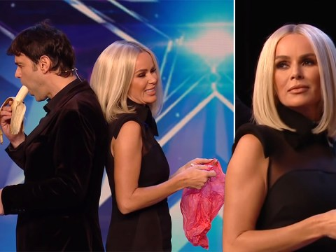 Britain's Got Talent mind-reader cracks up audience playing epic prank on Amanda Holden