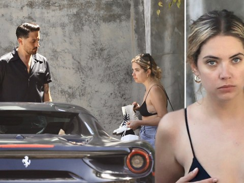 Ashley Benson continues to spark dating rumours with rapper G-Eazy as they take a drive in Malibu