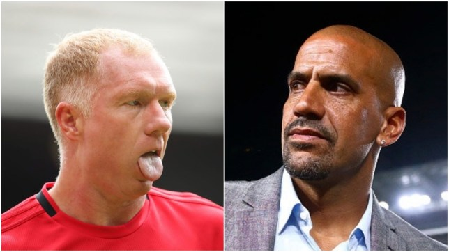 Paul Scholes has explained why Juan Sebastian Veron flopped at Manchester United