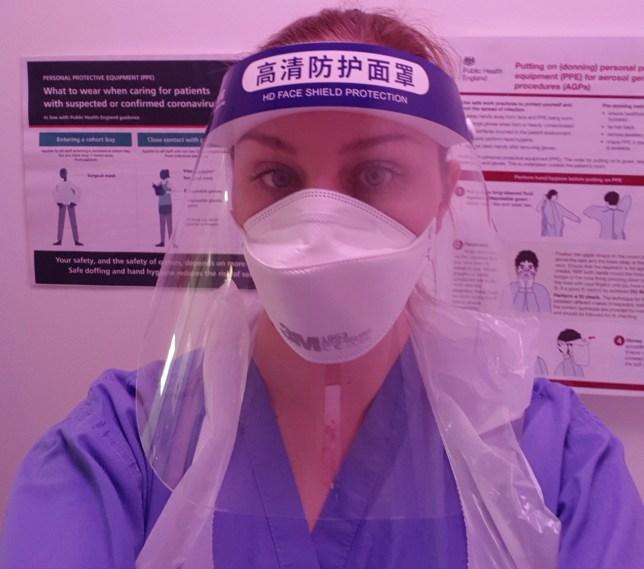 Cardiac nurse Vanessa Smith
