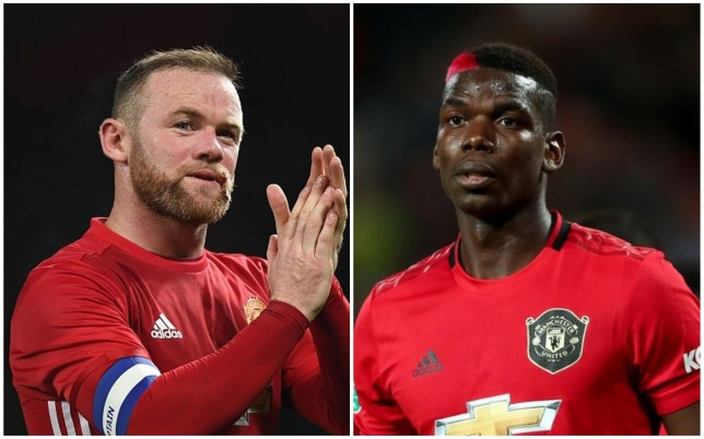 Wayne Rooney is keen to see Paul Pogba in a more advanced role for Manchester United