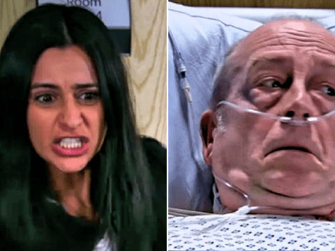 Coronation Street spoilers: Alya Nazir wishes death on Geoff Metcalfe after Yasmeen stabbing