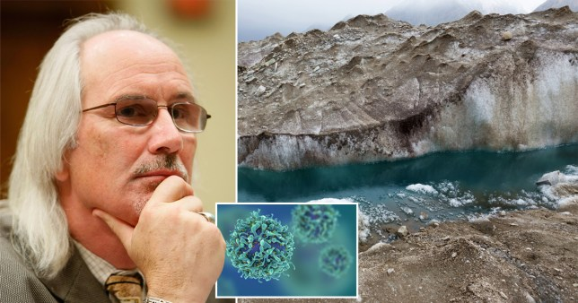 Climate change could lead to microbes emerging from permafrost, says Dennis Carroll