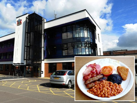 Copper banned from police for life after stealing seven fry-ups in first week