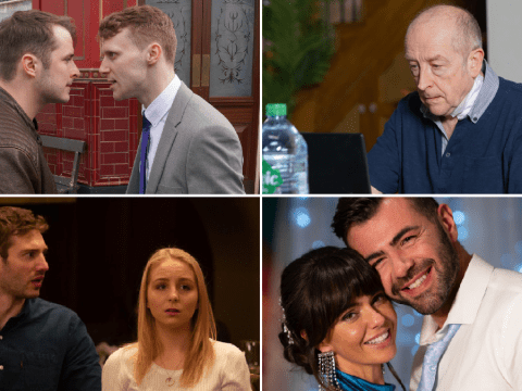 12 soap spoilers pictures: EastEnders death danger, Coronation Street Geoff caught out, Emmerdale affair reveal, Hollyoaks wedding drama