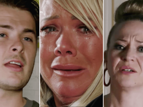 EastEnders spoilers: New trailer reveals Sharon's return, baby drama and Queen Vic dilemma