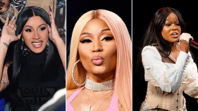 Cardi B, Nicki Minaj, Azealia Banks
