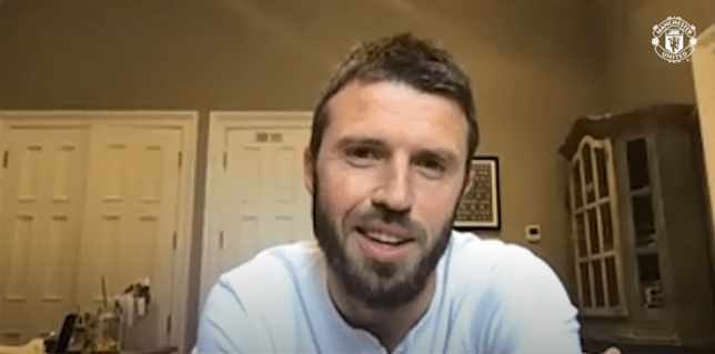 Michael Carrick has named his dream Manchester United six-a-side team