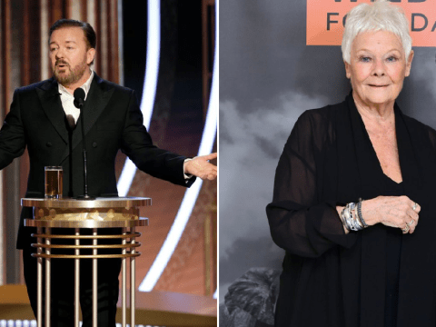 Ricky Gervais needed legal help over what to call Dame Judi Dench's privates