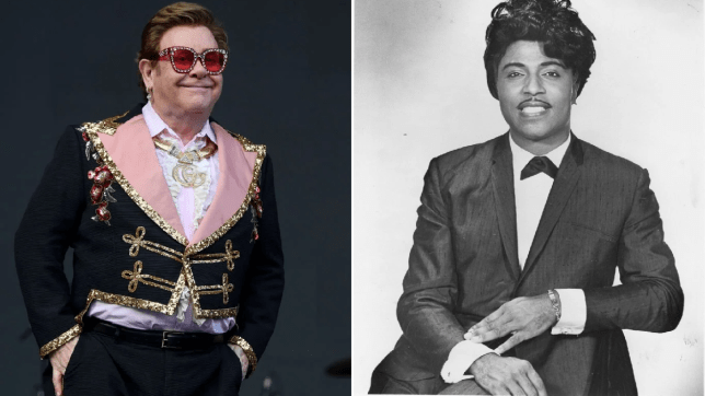 Elton John Little Richard tribute