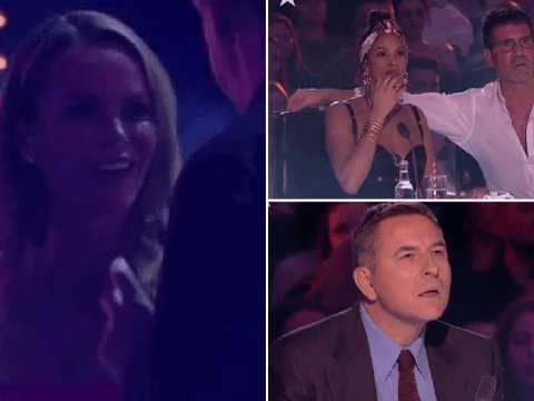 Britain's Got Talent's Amanda Holden has her very own Black Mirror moment in creepy unseen audition