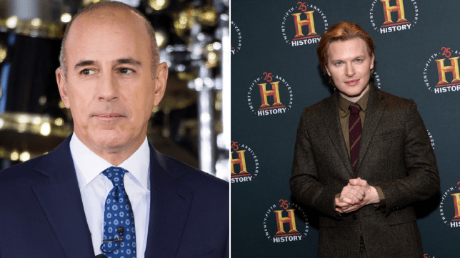 Matt Lauer and Ronan Farrow