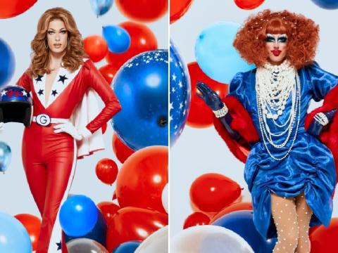 Drag Race's Gigi Goode and Crystal Methyd address those romance rumours during season 12 reunion