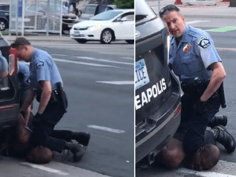 Four cops fired after black man died begging for air as one knelt on his neck