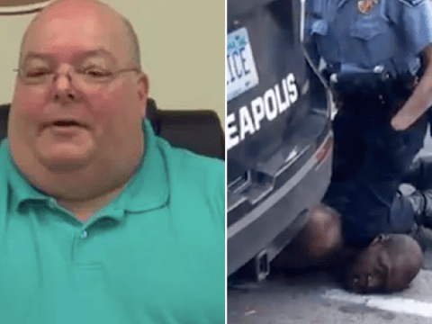 White politician calls George Floyd a liar and says cops are being unfairly 'crucified'