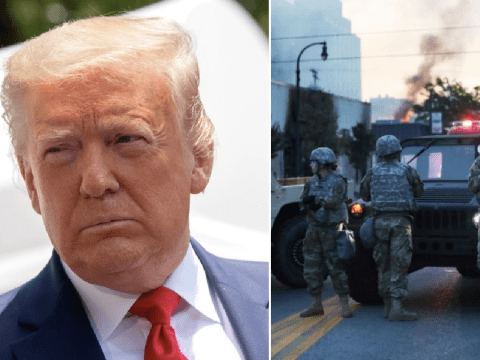 Donald Trump wants 'unlimited power of military' unleashed on George Floyd rioters
