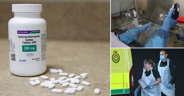 UK frontline staff to take hydroxychloroquine as part of global trial