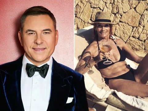 David Walliams thinks Jamie Redknapp's mum Sandra is a 'hot mama' and he's not wrong