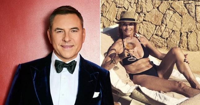 David Walliams calls Sandra Redknapp a 'hot mama'