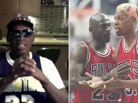 Dennis Rodman defends Michael Jordan from 'bullying' claims in The Last Dance