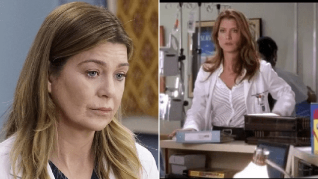 Kate Walsh Ellen Pompeo Grey's Anatomy