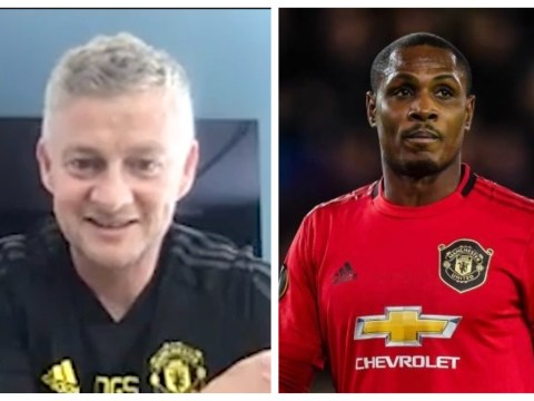 Ole Gunnar Solskjaer speaks out on Odion Ighalo's Manchester United future