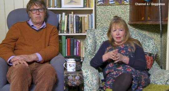 Mary and Giles Gogglebox
