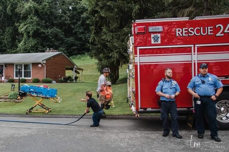 Vince ingressou no Corpo de Bombeiros de Greensburg aos 15 anos como bombeiro júnior.