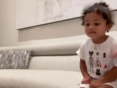 Kylie Jenner proves Stormi is most obedient kid ever as she stops herself eating chocolate in cute challenge