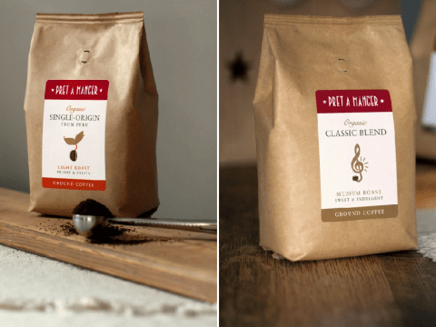Pret launches at-home coffee range for you to enjoy during lockdown