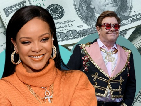 Rihanna is now richer than Sir Elton John with fortune of £468 million