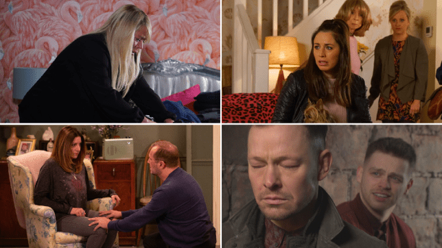 Sharon in EastEnders, Shona, Gail and Sarah in Coronation Street, Harriet and Will in Emmerdale and Jordan and Kyle in Hollyoaks