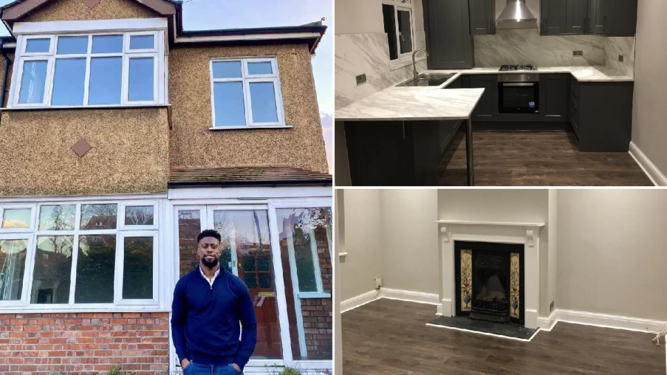 Daniel is raffling off this house in Mitcham