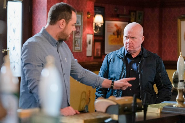 Mick and Phil in EastEnders