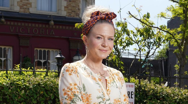 Kellie Bright in EastEnders: Secrets From The Square