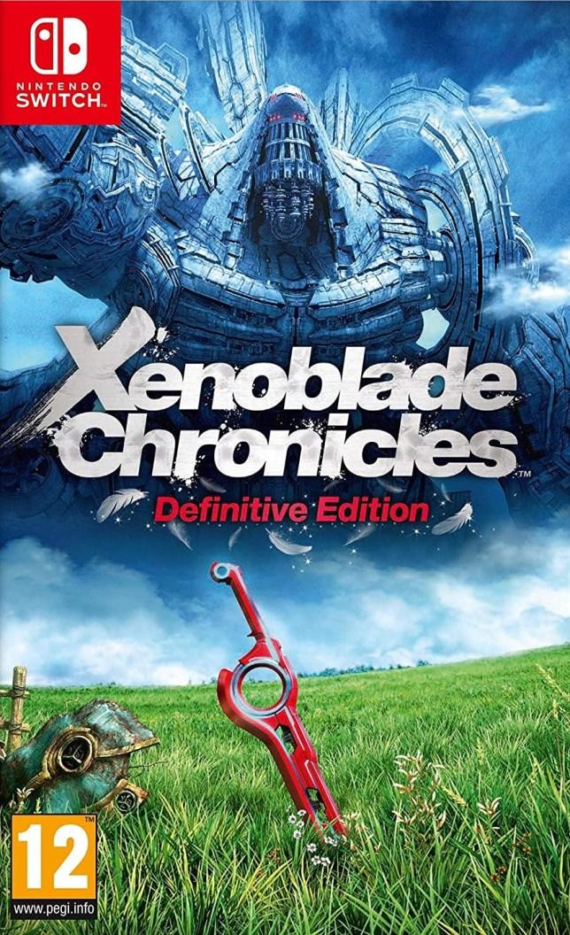 Xenoblade Chronicles: Definitive Edition box