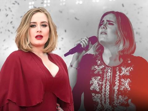 Adele 'absolutely panic stricken' and broke down in tears before headlining Glastonbury