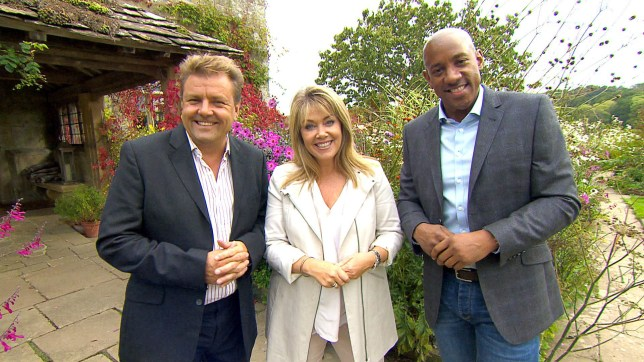 Homes under the Hammer presenters Martin Roberts, Lucy Alexander, Dion Dublin
