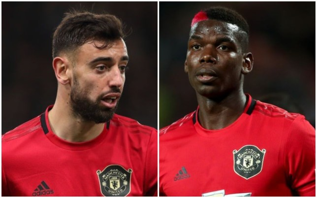 Paul Pogba has been impressed with Manchester United's attack featuring Bruno Fernandes