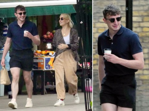 Paul Mescal steps out for coffee with 'flatmate' and Normal People co-star India Mullen