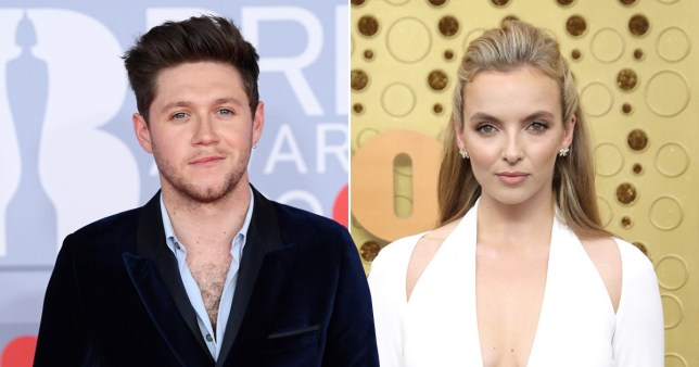 niall horan and jodie comer head shots