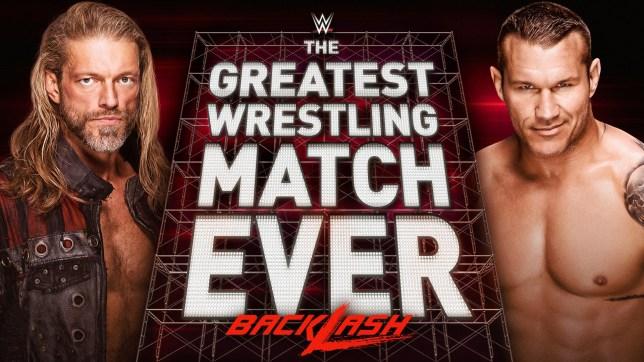 Edge and Randy Orton Backlash WWE poster