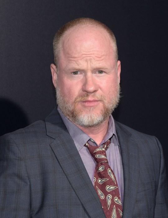 Joss Whedon on red carpet