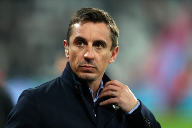 Manchester United legend Gary Neville has previewed the top-four battle