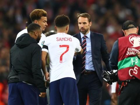 Gareth Southgate warns Jadon Sancho over Manchester United transfer