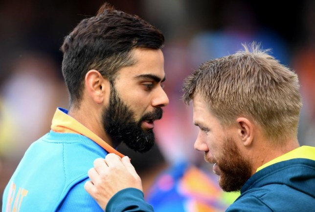 David Warner has warned his Australia team-mates against sledging Virat Kohli