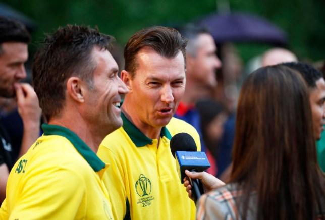 Former Australia bowler Brett Lee has paid tribute to Sachin Tendulkar and Brian Lara
