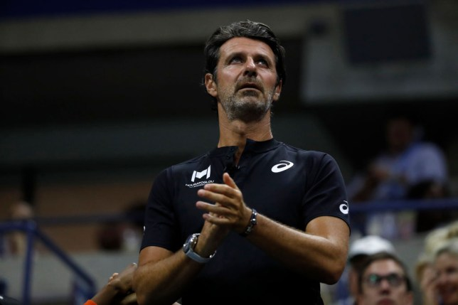 Patrick Mouratoglou during the Women's Singles semi-final match between Serena Williams of the United States and  Elina Svitolina of the Ukraine on day eleven of the 2019 US Open at the USTA Billie Jean King National Tennis Center on September 05, 2019 in the Queens borough of New York City. (Photo by Michael Owens/