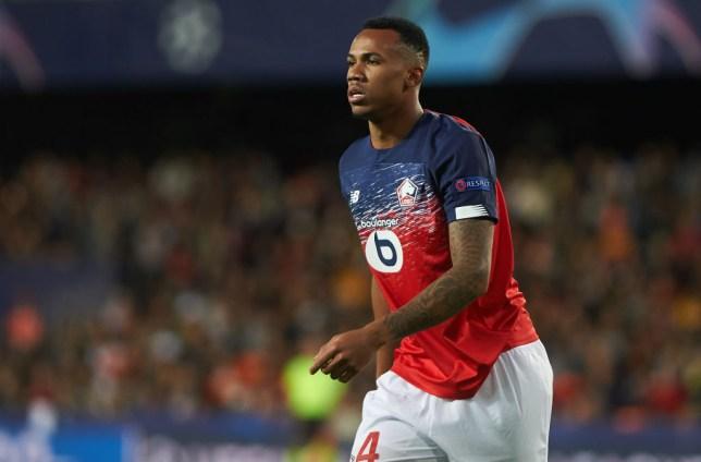 Lille defender Gabriel Magalhaes