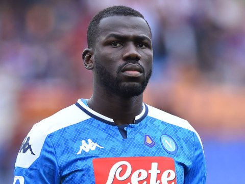 Napoli president sends message to Manchester United and Manchester City over Kalidou Koulibaly transfer